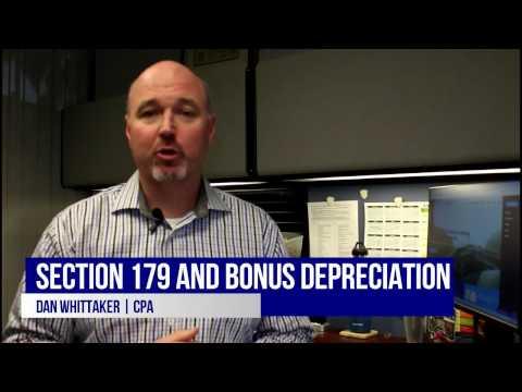 How Section 179 & Bonus Depreciation Work