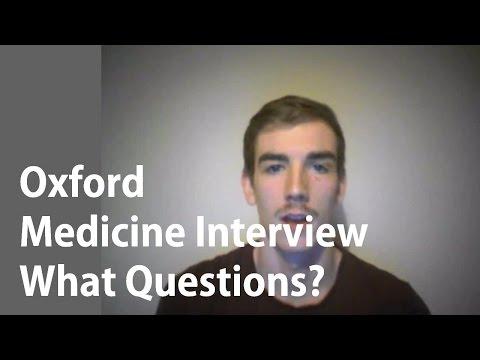 Oxford Medicine Interview