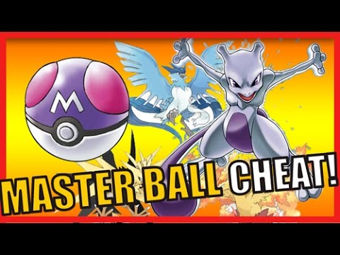 Pokemon Fire Red, Leaf Green and Emerald Master Ball Cheat