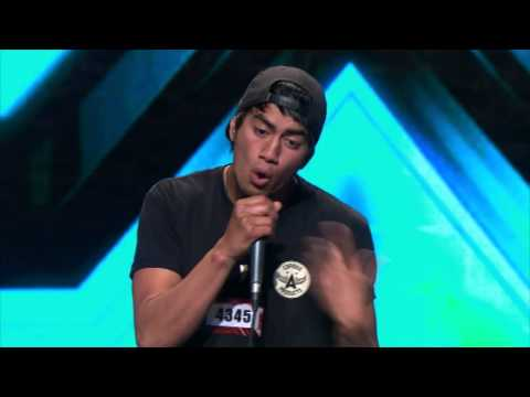 Amazing jam by Beau Monga - Sneak Peek audition from The X Factor NZ