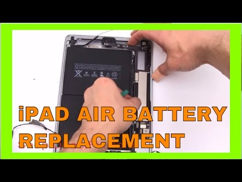 How to Replace an iPad Air Battery