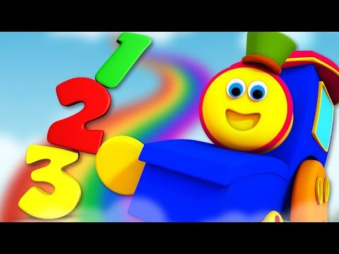 Numbers Song | Bob The Train | Learning Videos For Kids