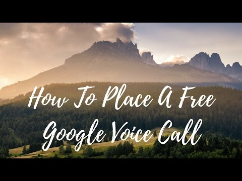 How To Place A Free Google Voice Call and ABMInfo.com American Bill Money Review