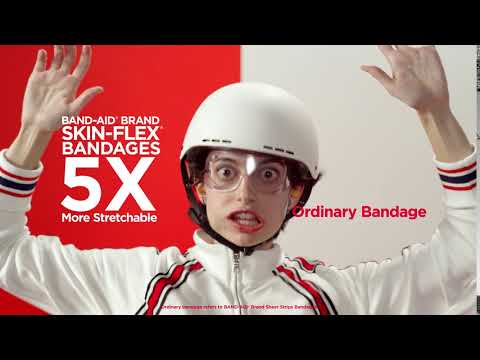 Blow Past the Wind Test with Skin-Flex® Bandages | BAND-AID® Brand Adhesive Bandages