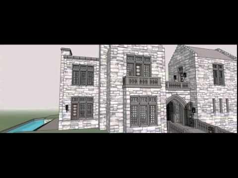 Architectural Designs Castle House Plan 44118TD