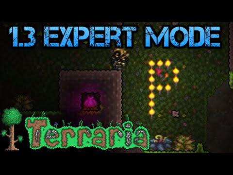 [40] Terraria 1.3 Expert Mode | Plantera Bulbs & Chlorophyte (Let's Play)