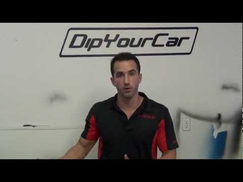 How to Wash PlastiDip - DipYourCar.com Introduces the Dip Washer