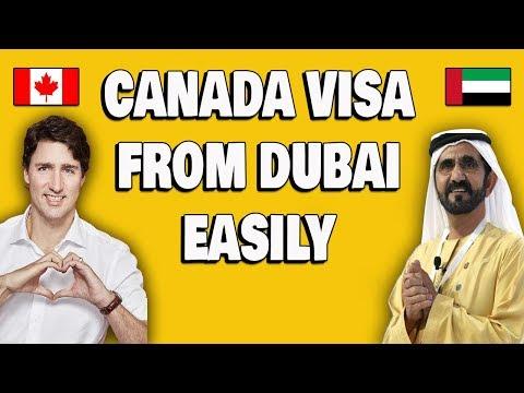 Dubai To Canada Challo Visa Guaranteed