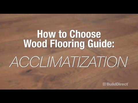 How to Choose Wood Flooring: Acclimatization