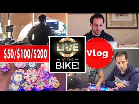 Live at the Bike $50/$100/$200 NL - Hand of the Day Vlog