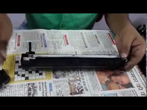How to Refill Toner Cartridge  Hindi