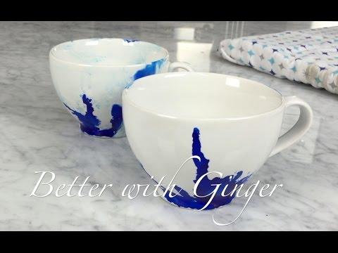 DIY Inking Ceramic Mug