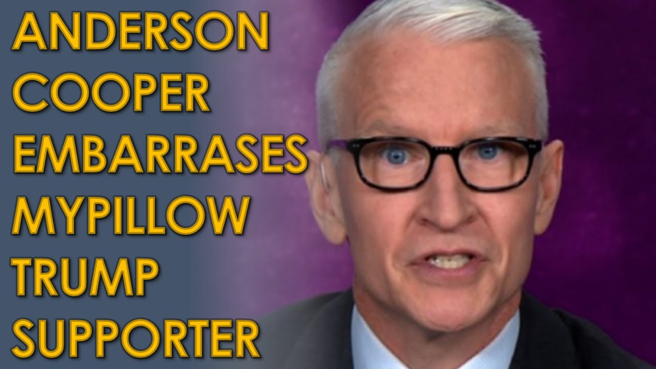 """Anderson Cooper EMBARRASSES MyPillow Guy Mike Lindell, calls him """"snake oil salesman"""""""