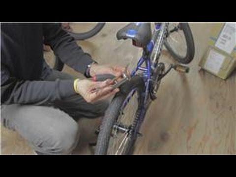 Bicycle Maintenance  : BMX Bike Rear Brake Assembly Instructions
