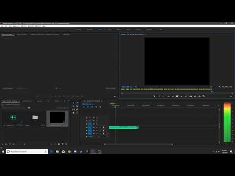 Adobe Premiere Pro l PC l Part 1 l Marking Out The Music