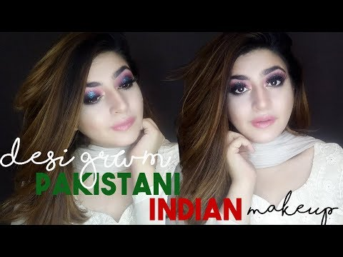 DESI GRWM | Pakistani/Indian Evening Party Make-up Look | GLOSSIPS