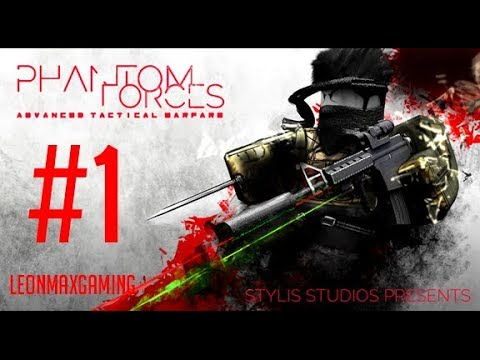Phantom Forces GamePlay | Roblox #1