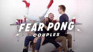 Couples Play Fear Pong (Analisa & Aaron vs. Ian & Makaela) | Fear Pong | Cut