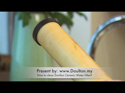 How to clean Doulton Ceramic Water Filter? www.doulton.my