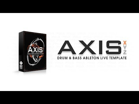 Drum & Bass Ableton Live 10 Template: Ghost Syndicate - Axis X