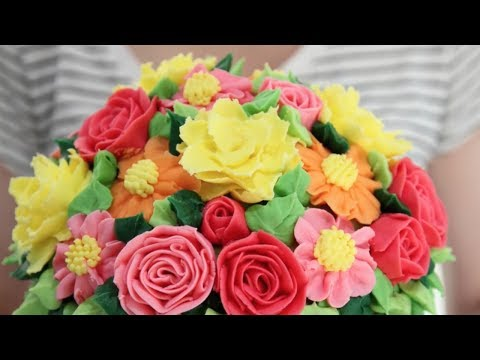 Pretty Cake Compilation - Piping and Flowers