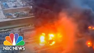 Download Deadly Blast Rips Through Chemical Plant In China | NBC News Video