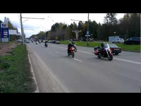 Закрытие мотосезона 2012 в Перми
