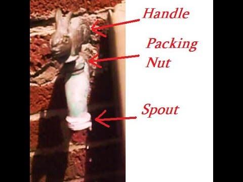 LEAKING   FAUCET   FIX  - WASHER  &  BROKEN  SCREW REPLACEMENT