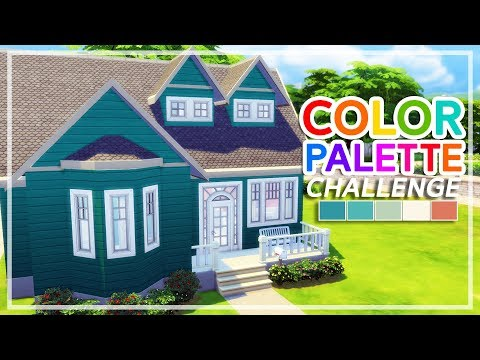 The Sims 4 - Color Palette Challenge