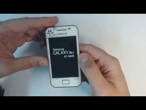Samsung Galaxy Ace S5839i hard reset
