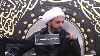 سيكولوجية الإلحاد ll الشيخ أحمد سلمان (8 محرم 1439هـ)