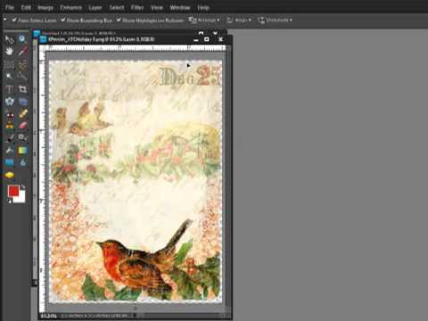 Making Your Own Printables with Brushes and Digital Embellishments