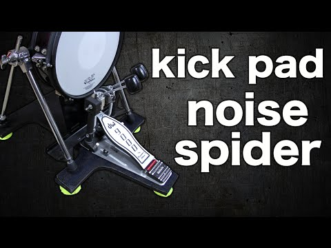 Noise Spider (kick pad sound isolator)