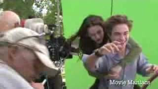 Twilight - Set Visit - in the trees!