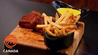 Steak Frites With Béarnaise Sauce | MasterChef Canada | MasterChef World