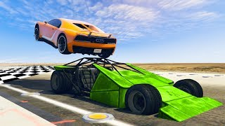 HOW TO WIN EVERY RACE! (GTA 5 Funny Moments)
