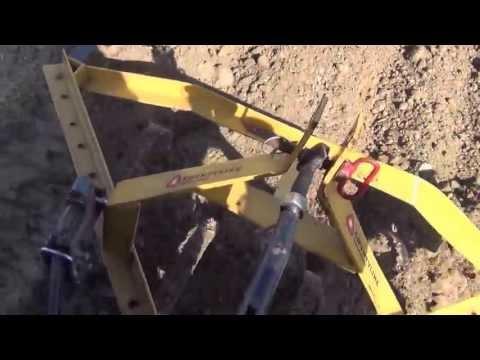 Garden Plowing Part 3 running the cultivators
