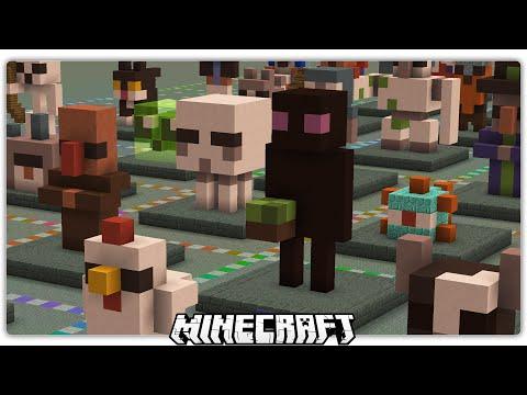 64 Minecraft Mini-Builds!