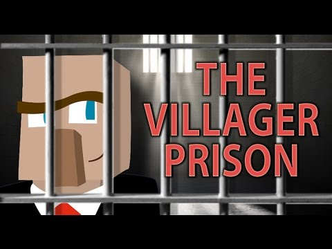 BUILD A VILLAGER PRISON: Manage Villager Trading in Minecraft
