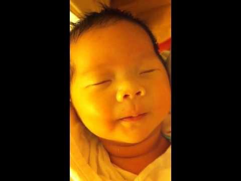 Baby falls asleep after nursing