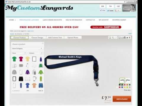 Printed Lanyards - Design Your OWN Printed Lanyards Online!