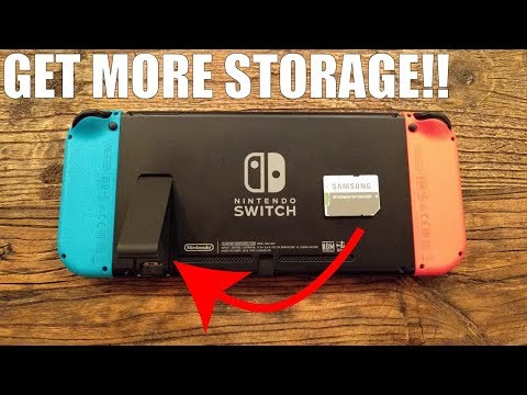How to Use a Micro SD Card on The Nintendo Switch!! (Simple Tutorial)