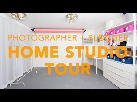 Blogger + Photographer Home Studio Quick Tour