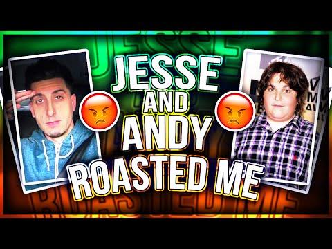 Jesse from PrankVsPranK AND Andy Milonakis Roast Me! (DISS TRACK)