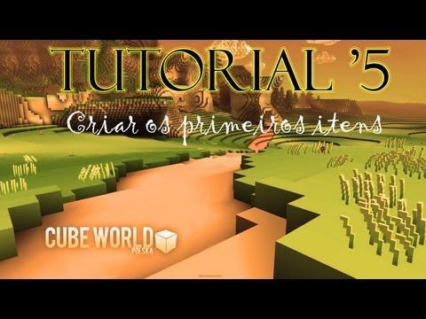 Cube World - Pergaminhos e Básicos do Crafting (Tutorial #5)