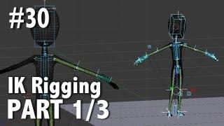 Blender 2.6 Tutorial 30 - IK Rigging Pt. 1 / 3