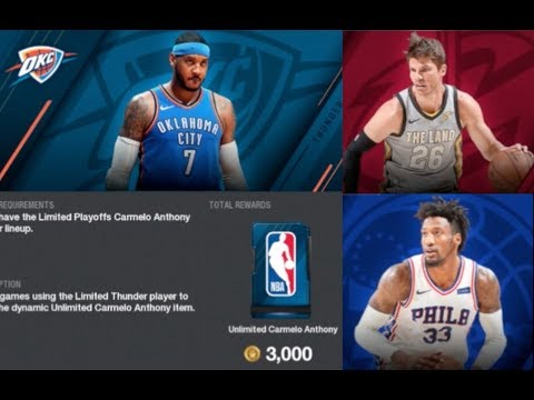 FREE PLAYOFF PLAYERS! NBA Live 18 - Ultimate Team