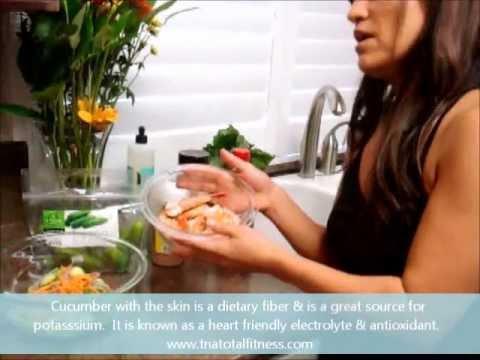 Japanese Cucumber Salad with Rice Vinegar