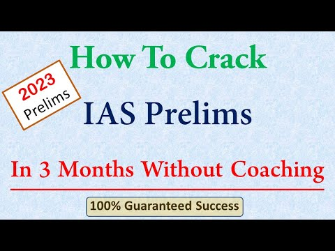 How To Crack IAS Prelims in 3 Months Without Coaching (Amol Shinde)