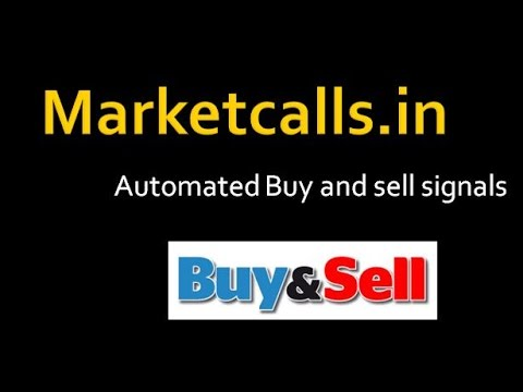Stock market automated Buy Sell signals